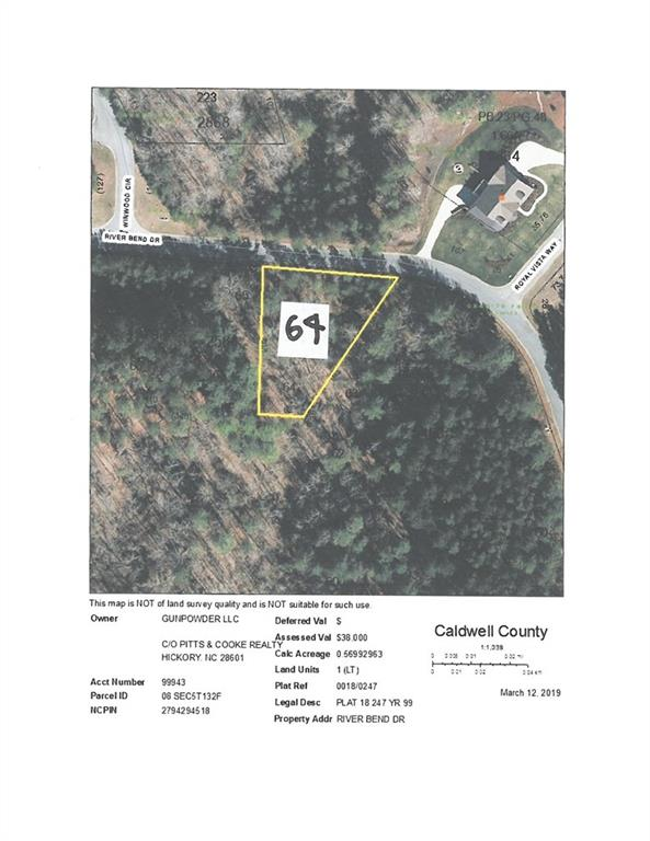 64 River Bend Drive Unit 64, Granite Falls, NC 28630, MLS # 3483587