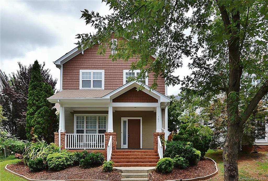 707 Parkside Terrace Lane, Charlotte, NC 28202, MLS # 3537203