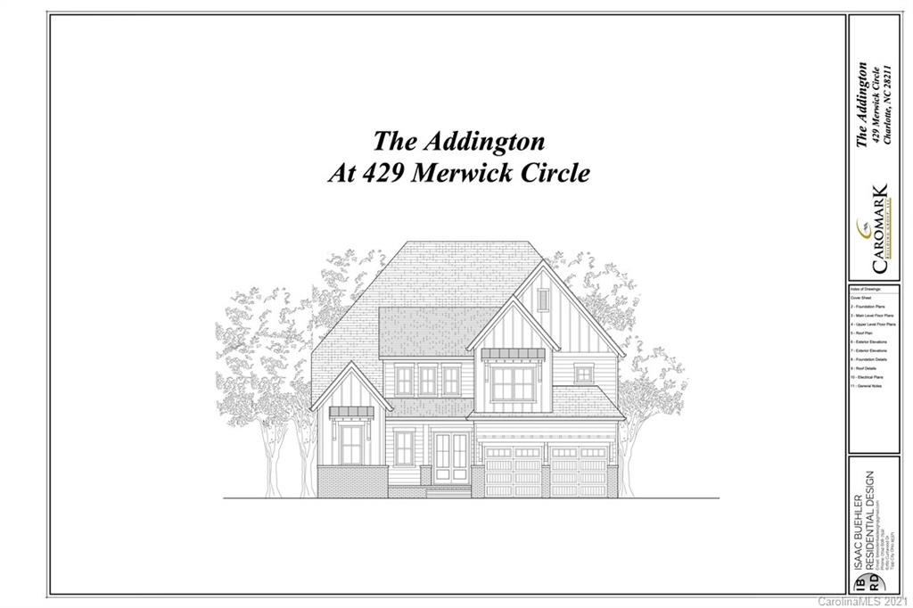 429 Merwick Circle Unit 5, Charlotte, NC 28211, MLS # 3701420