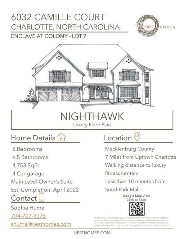 6032 Camile Court Unit 7, Charlotte, NC 28226, MLS # 3786876